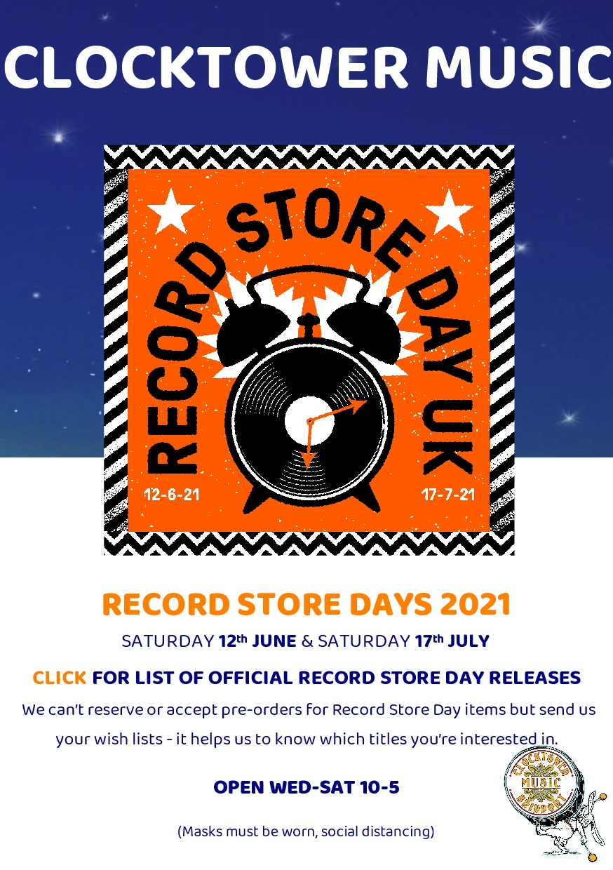 RSD Record Store Day 2021